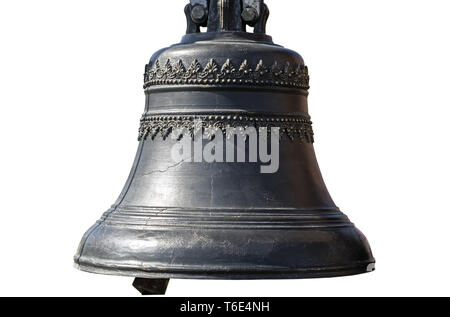 The Church bell on a white background. - Stock Photo