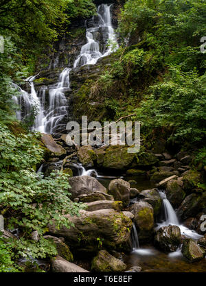 Torc Waterfall in County Kerry - Stock Photo