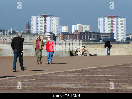 Clarence Esplanade in Southsea, Hampshire UK 2012 - Stock Photo