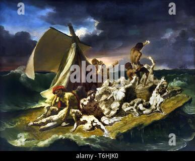 Le Radeau de la Méduse - The Raft of the Medusa 1818 - Théodore GÉRICAULT born in Rouen, 1791 - Paris, 1824, France, French, - Stock Photo