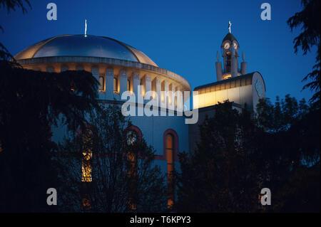 Resurrection of Christ Orthodox Cathedral in Tirana, Albania - Stock Photo