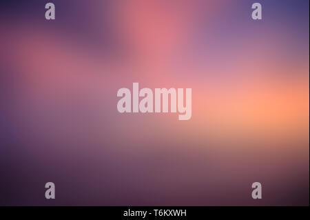 blue pink blur Orange purple Yellow abstract background - Stock Photo