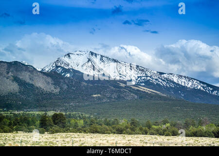 Great Sand Dunes National Park and Preserve, Colorado - Stock Photo