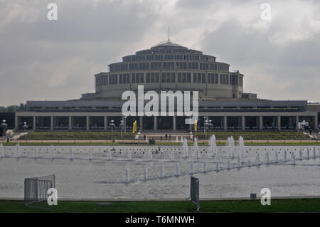 Wroclaw Centennial Hall (Hala Ludowa), Poland - Stock Photo