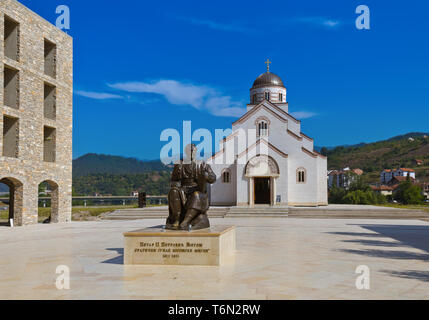 Andricgrad or Kamengrad in Visegrad - Bosnia and Herzegovina - Stock Photo