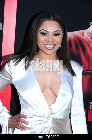 Los Angeles, California, USA 1st May 2019  An actress attends the premiere of The Intruder on May 1, 2019 at Hollywood ArcLight in Los Angeles, California, USA. Photo by Barry King/Alamy Live News - Stock Photo