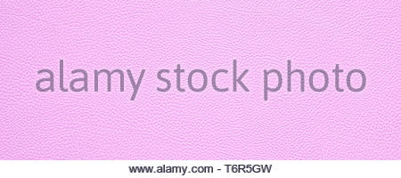 blank pink leather texture background banner with copy space - Stock Photo