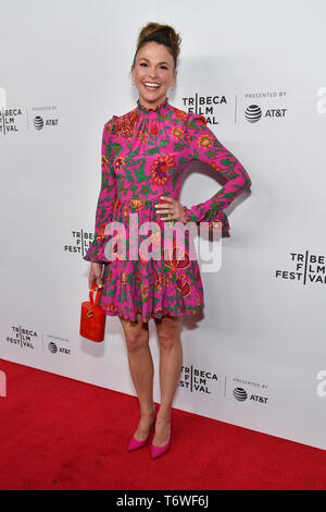 Sutton Foster attends Tribeca TV: Younger at Spring Studio on April 25, 2019 in New York City. - Stock Photo