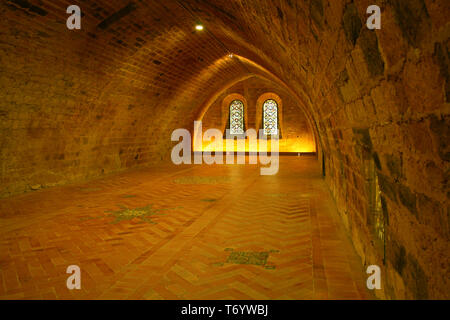Abbey Fontfroide Narbonne, France - Stock Photo