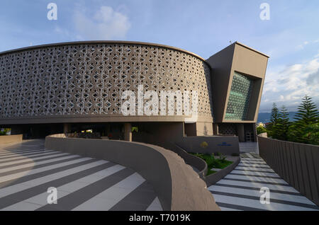 Aceh Tsunami Museum from the outside - Stock Photo