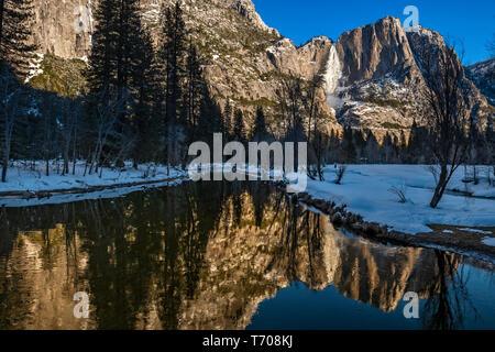Winter views of spectacular Yosemite National Park