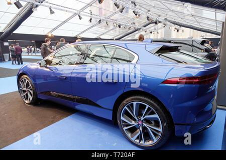 Paris, France. 31st Jan, 2019. Jaguar at the 34th International Automobile Festival.Credit:Veronique Phitoussi/Alamy Stock Photo - Stock Photo