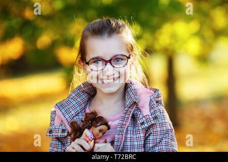 Smiling little girl - Stock Photo