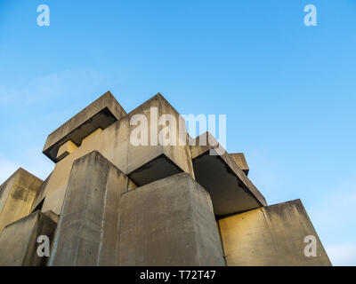 Modern church at vienna - Stock Photo