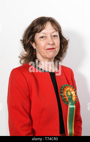 Jill Evans MEP - Plaid Cymru Member of the European Parliament for Wales - Stock Photo
