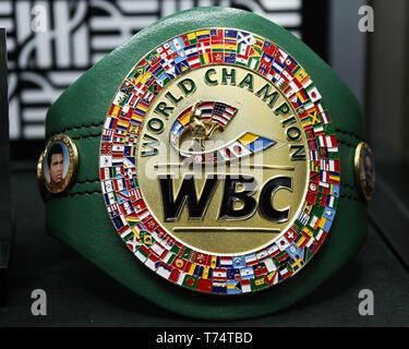 LAS VEGAS, NEVADA, USA - MAY 03: Atmosphere at the Hublot x WBC 'Night of Champions' Gala held at Encore at Wynn Las Vegas on May 3, 2019 in Las Vegas, Nevada, United States. (Photo by Xavier Collin/Image Press Agency) - Stock Photo