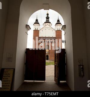 Orthodox monastery (Supraśl, Poland) - Stock Photo