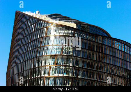 One Angel Square, Co-operative Group Headquarters building, NOMA redevelopment scheme, Manchester, UK - Stock Photo