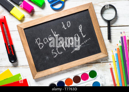 Back to school concept. - Stock Photo