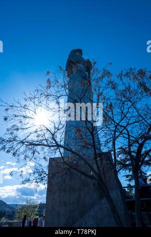 Mother Georgia statue - Stock Photo
