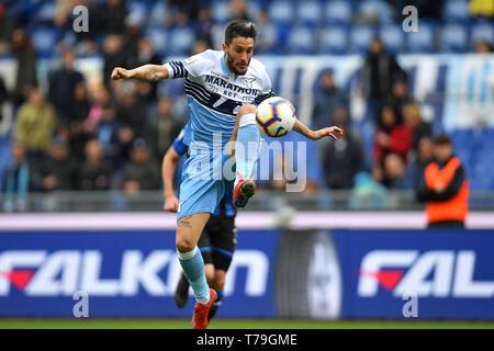 Luis Alberto of Lazio in action  Roma 5-5-2019 Stadio Olimpico Football Serie A 2018/2019 SS Lazio - Atalanta  Foto Andrea Staccioli / Insidefoto - Stock Photo