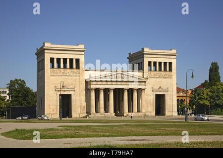 Propylaea in Munich. Germany - Stock Photo