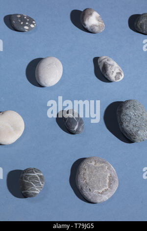 decorative stones. natural stones concept. decoration .artefact from ancient time - Stock Photo
