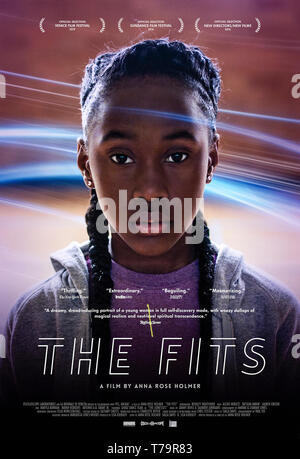 The Fits (2015) directed by Anna Rose Holmer and starring  Royalty Hightower, Alexis Neblett and Da'Sean Minor. Toni joins a dance troupe who start to suffer from violent fits. - Stock Photo