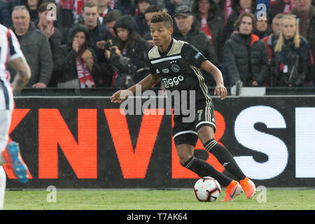 5 may 2019 Rotterdam, The Netherlands Soccer Dutch Cupfinal Willem II v Ajax  KNVB Bekerfinale 2019  David Neres (Ajax) - Stock Photo
