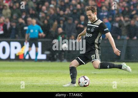5 may 2019 Rotterdam, The Netherlands Soccer Dutch Cupfinal Willem II v Ajax  KNVB Bekerfinale 2019  Daley Blind (Ajax) - Stock Photo