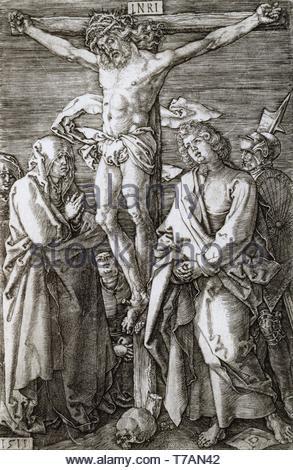 Albrecht-Drer-Crucifixion - Stock Photo
