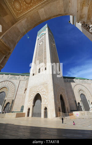 The Minaret of the Hassan II mosque is the tallest minaret in the world.