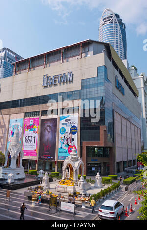 CentralWorld shopping mall, Pathum Wan district, Bangkok, Thailand - Stock Photo