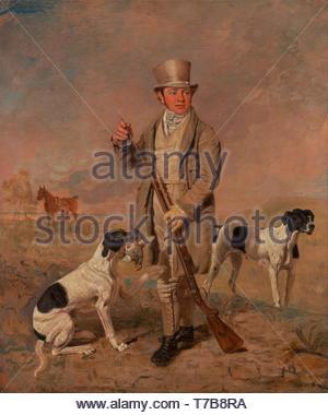Benjamin-Marshall-Portrait of a Sportsman, Possibly Richard Prince - Stock Photo