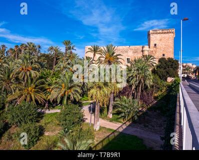 El palacio de Altamira, sede del Museo Arqueológico y de Historia de Elche. Alicante. Comunidad Valenciana. España - Stock Photo