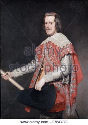 Diego-Velzquez-Philip IV, King of Spain - Stock Photo