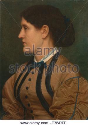 Edward-John-Poynter-Eliza Eastlake - Stock Photo