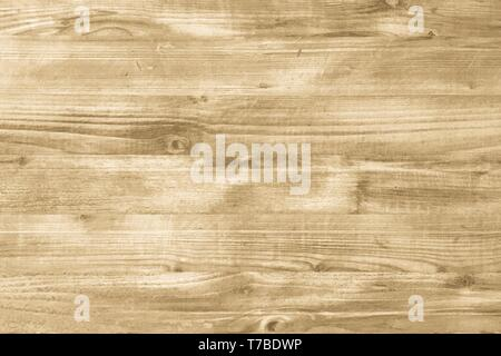 brown wood texture, light wooden abstract background - Stock Photo
