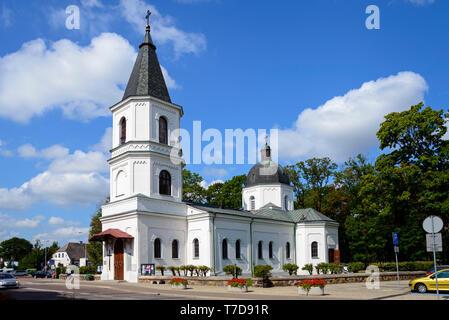 Sacred heart church, Suwalki, Podlasie, Poland - Stock Photo