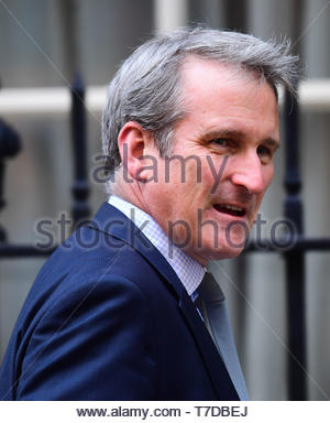 Embargoed to 0001 Tuesday May 07 File photo dated 24/09/18 of Education Secretary Damian Hinds who wants to see a reduction in the number of exclusions after a root-and-branch review found 'too much variation' in those being kicked out of school. - Stock Photo