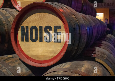 Barrels with Story - Stock Photo