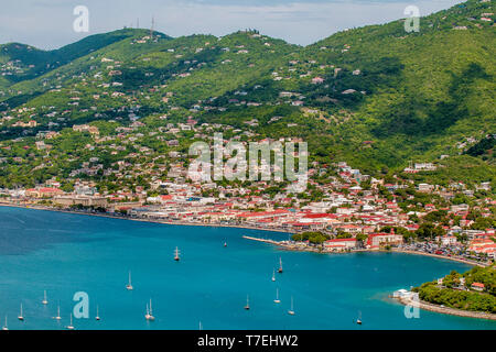 Charlotte Amalie, St. Thomas, US Virgin Islands. - Stock Photo