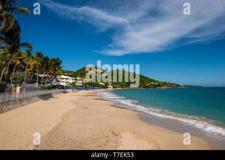 Marriott's Frenchman's Reef & Morning Star Beach Resort, Morningstar Beach, St. Thomas, US Virgin Islands. - Stock Photo