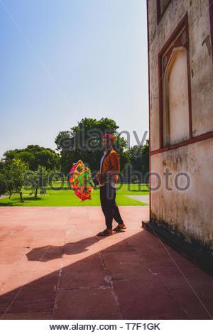 Man giving pose - Stock Photo