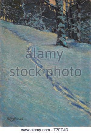 J.E.H.-MacDonald-Morning after Snow, High Park - Stock Photo