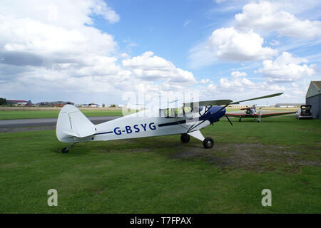 Breighton Aerodrome, yorkshire - Stock Photo
