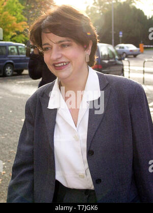 Wendy Alexander, MSP, arrives at Stirling Council HQ today for the vote for the new leader of the Scottish Labour Party.  ( Saturday 21/10/00).