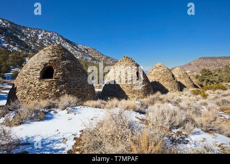 Charcoal Kilns Back - Stock Photo