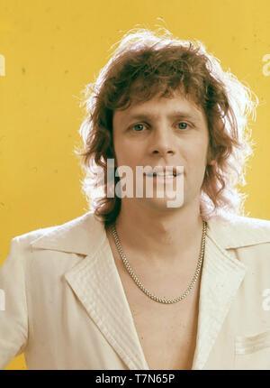 PAUL NICHOLAS English pop singer  about 1976 - Stock Photo
