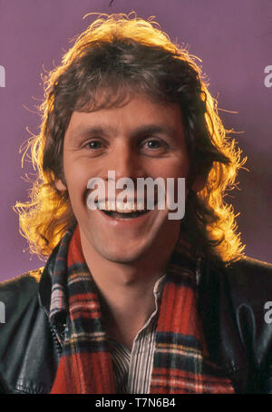 PAUL NICHOLAS English pop singer about 1970 - Stock Photo